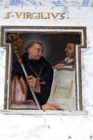 Vergilius of Salzburg - Image: St.Adolari Empore 6 Virgil
