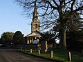 St. Lawrence's Church and village war memorial, Mereworth - geograph.org.uk - 1621021.jpg