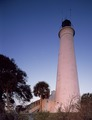 St. Marks Light, at the mouth of the St. Marks River in the Apalachee Bay on Florida's panhandle LCCN2011632986.tif