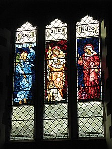 St. Martin's Church - stained glass window (4) - geograph.org.uk - 1582286.jpg