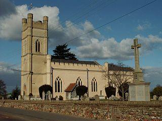 Rivenhall village in United Kingdom