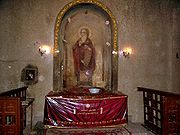 St. Athanasius Shrine (where the saint's relics are preserved) under St. Mark's Cathedral, Cairo