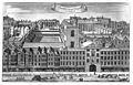 St Bartholomew's Hospital, London; bird's-eye view of the He Wellcome M0010303.jpg