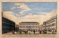 St Bartholomew's Hospital, London; the courtyard. Wellcome V0012986.jpg