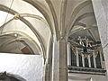 St Jacob Kleinzwettl Nave vaulting and organ.JPG