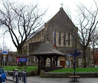 Swansea City Centre - St. Mary's Church