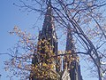 St Pats church steeples Elizabeth, NJ.jpg