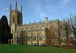 Thomas Rickman - Image: St Peter ad Vincula Hampton Lucy