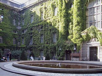 Yuri Knorozov - Inner courtyard of the Preußische Staatsbibliothek (2005)