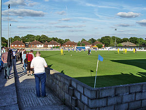 Radcliffe Borough F.C. - Stainton Park during a friendly against neighbours Bury in 2006