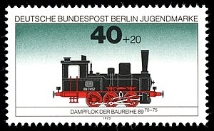 Prussian T 3 - 1975 stamp
