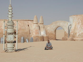 Star Wars filming location in Tunisia.