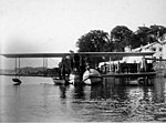 StateLibQld 1 201559 Savoia Marchetti seaplane on the Brisbane River, August 1925.jpg