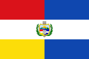 Flag of Guatemala - Image: State Flag of Guatemala (1851 1858)