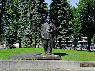 1934 Latvian coup d'état - Monument to Ulmanis in Riga
