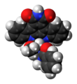 Stauprimide molecule spacefill.png