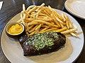 Steak frites at The Bar at MacArthur Place in Sonoma - Sarah Stierch.jpg