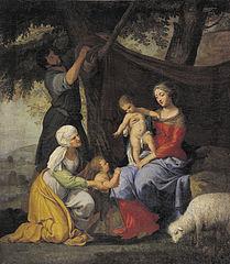 Repos de la sainte famille