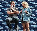 Stephen Amell and Emily Bett Rickards HVFFLondon2017Amell-ALS-5 (34925689330).jpg