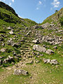Steps out of the dry valley north of Malham Cove - geograph.org.uk - 1355321.jpg
