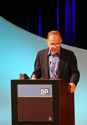 Stephen R. Bourne - Steve Bourne speaking at SDWest 2005.
