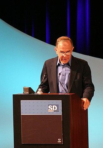 Stephen R. Bourne - Steve Bourne speaking at SDWest 2005.