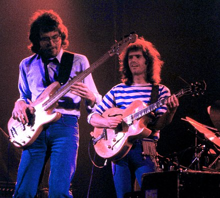 Left to right: Steve Rodby and Pat Metheny Steve Rodby and Pat Metheny.jpg