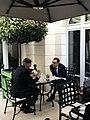 Steven Mnuchin and Philip Hammond at 2019 G7 Finance.jpg