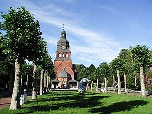 Hakenfelde - The Evangelical church ''Stiftskirche-Johannesstift''