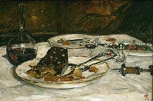 Boeuf à la mode - Carel Nicolaas Storm van 's-Gravesande (1841-1924) Boeuf à la mode, 1906, oil on canvas, Teylers Museum, Haarlem