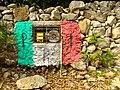 Still Life with Stone Wall and PRI Colors - Izamal - Merida - Mexico.jpg