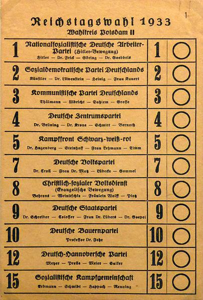 File:Stimmzettel zur Reichstagswahl im März 1933.jpg