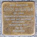 Stolperstein Erich Unverfaehr by 2eight 3SC1328.jpg