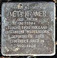 Stolperstein Meta Krämer (Griedeler Straße 48 Butzbach).jpg