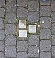 Stolpersteine Höxter, Verlegeort Rosenstraße 2.jpg