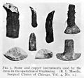 Stone and copper instruments used by the Incas Wellcome M0003693.jpg