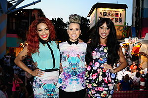 Stooshe - Karis (left), Courtney (middle) and Alexandra (right)