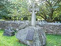 Strange headstone in graveyard - geograph.org.uk - 916739.jpg