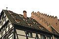 Strasbourg, ancienne pharmacie du Cerf, lucarnes.jpg