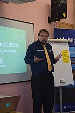 Strategy Salon 2019 (Wikimedians of Russian languages) - Kaarel Vaidla 04.jpg