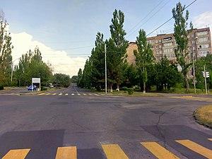 Street in Abovyan 15.07.2017