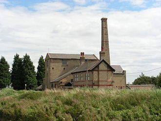 The Fens - Stretham Old Engine, alongside the River Great Ouse