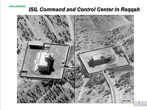 Military activity of ISIL - An ISIL command and control center in Raqqa in 2014.