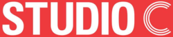 Studio C logo red background.png