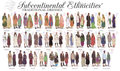 Subcontinental Ethnicities' Traditional Dresses.png