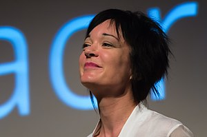 Sue Gardner - 2013 at Wikimania