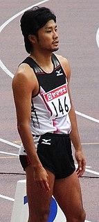 Shingo Suetsugu Japanese sprinter