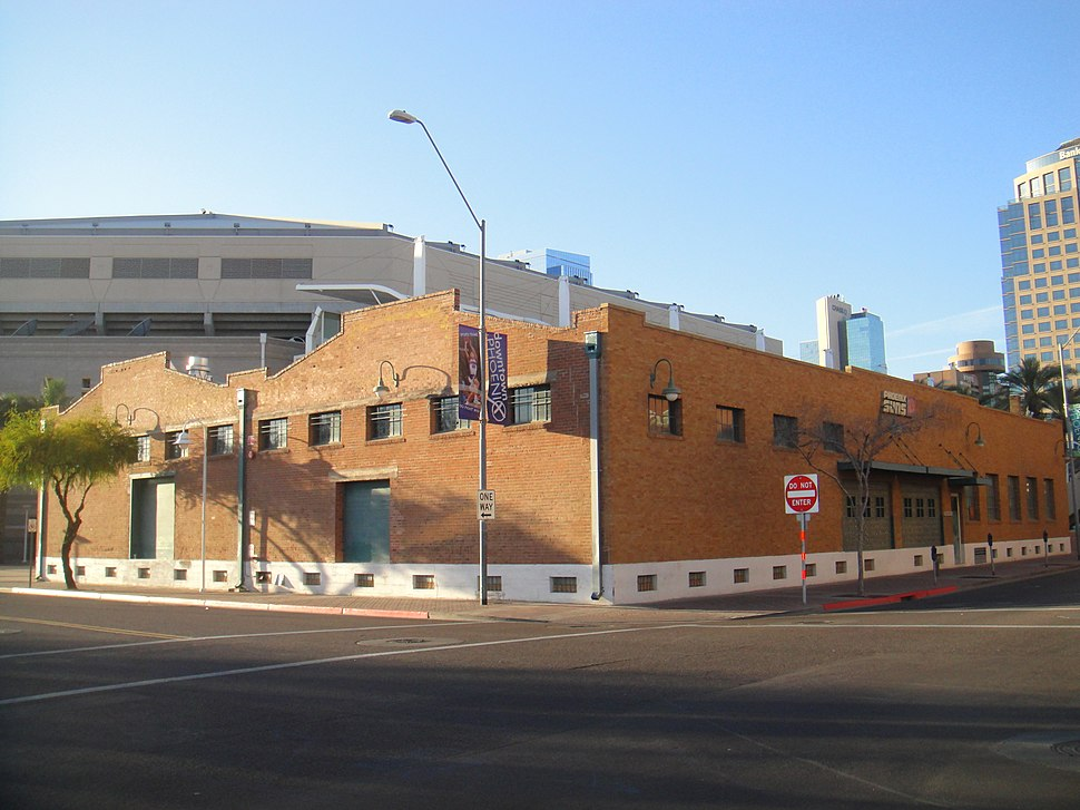 """Sun Mercantile Building - South East Corner in Phoenix, AZ, last remaining building in the area once called """"Chinatown"""""""