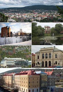Sundsvall Place in Medelpad, Sweden