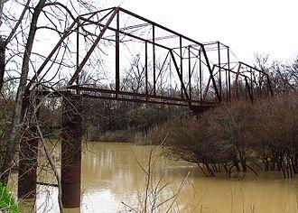 Sunflower River - Sunflower River west of Ruleville, Mississippi.